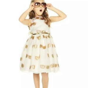 Pippa & Julie party dress sunglasses gold formal